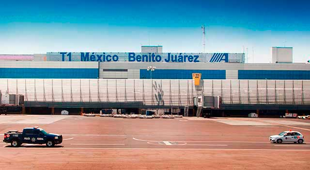 Mexico Airport (MEX) on maine county map, major mexican cities map, jacksonville international airport map,